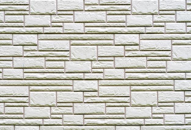 Textura de parede de tijolos cinza de construção. Foto Premium