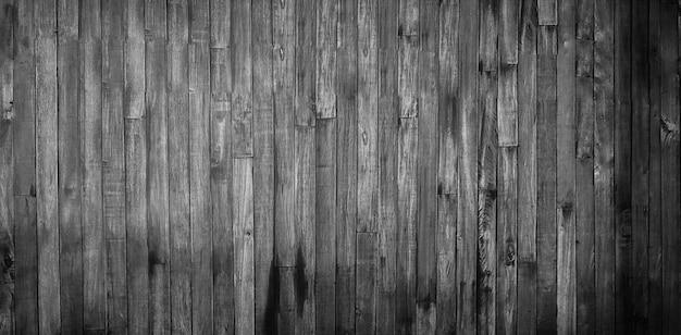 Textura de parede madeira velha sem costura, textura da parede de madeira Foto Premium