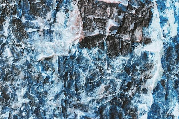 Textura de pedra azul marinho abstrata Foto Premium