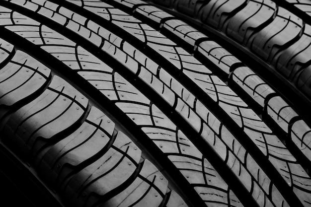 Textura de pneu - fundo Foto Premium