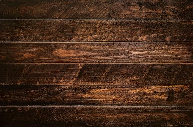 Textura de prancha de madeira marrom Foto Premium