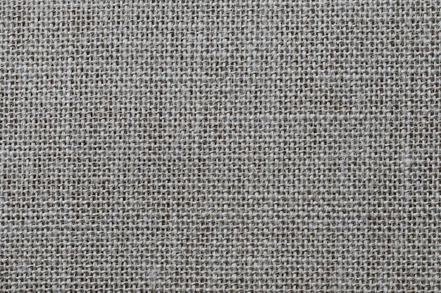 Textura de saco de cânhamo marrom. Foto Premium