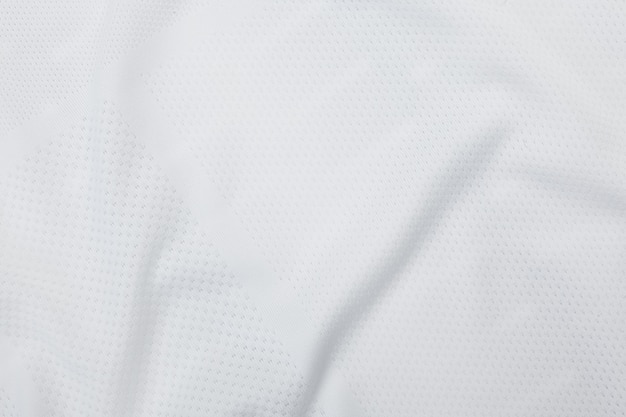 Textura de tecido branco, padrão de pano. Foto Premium