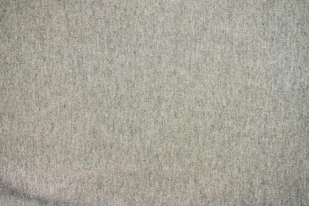 Textura de tecido de lã cinza. Foto Premium