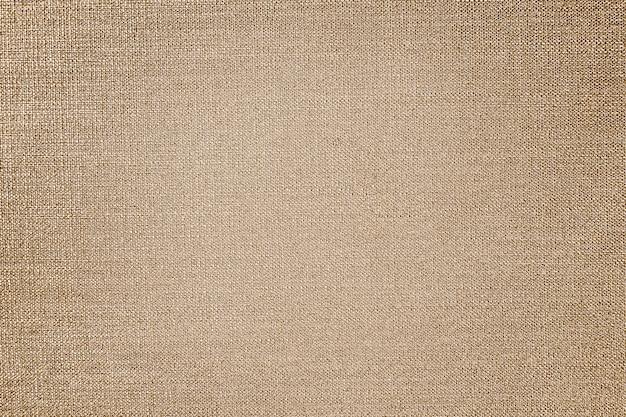 Textura de tecido de linho marrom Foto gratuita