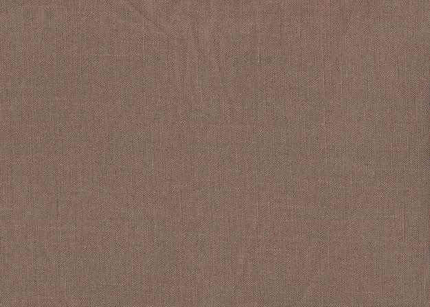 Textura de tecido marrom para plano de fundo Foto Premium