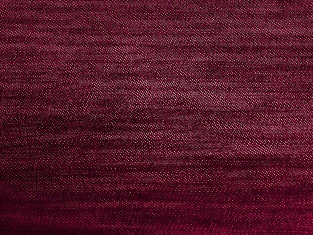 Textura de tecido roxo vermelho Foto Premium