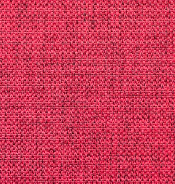 Textura de tecido vermelho Foto gratuita
