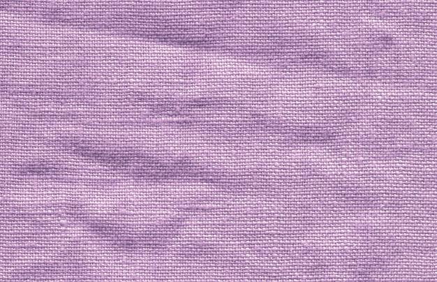 Textura de tecido violeta de linho Foto Premium