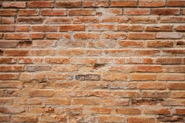 Textura de tijolos e fundo, estilo grunge Foto Premium