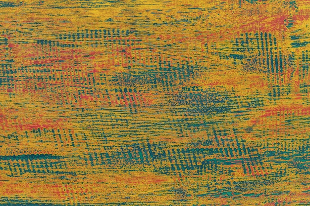 Textura de um fundo de madeira gasto velho verde e azul. Foto Premium