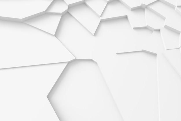 Textura digital leve de blocos de diferentes tamanhos e formas que se elevam uns sobre os outros, projetando sombras Foto Premium