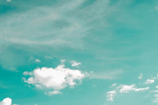 Textura dinâmica da nuvem e do céu do vintage para o fundo Foto Premium