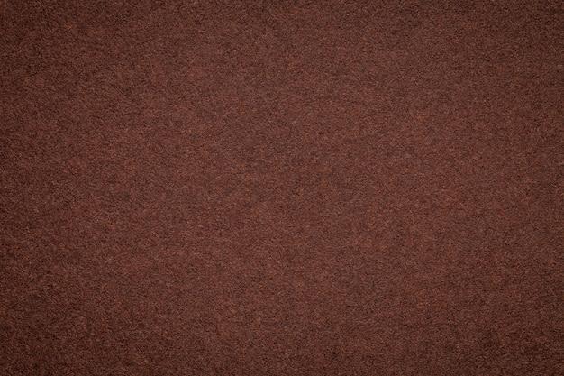 Textura do antigo fundo de papel pardo escuro Foto Premium