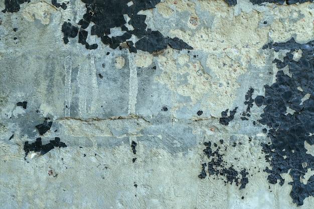 Textura do cimento áspero velho ou muro de cimento com resina rachada. pode ser usado como plano de fundo. Foto Premium