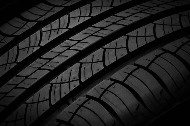 Textura do pneu Foto Premium