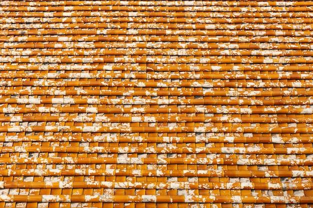 Textura do telhado de telha Foto Premium