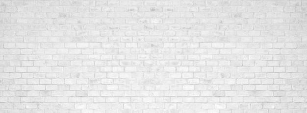 Textura e fundo brancos da parede de tijolo. Foto Premium