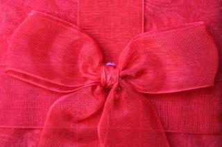 textura laço vermelho Foto gratuita