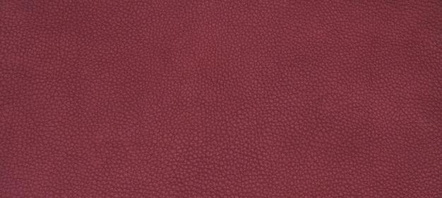 Textura vermelha de couro Foto gratuita