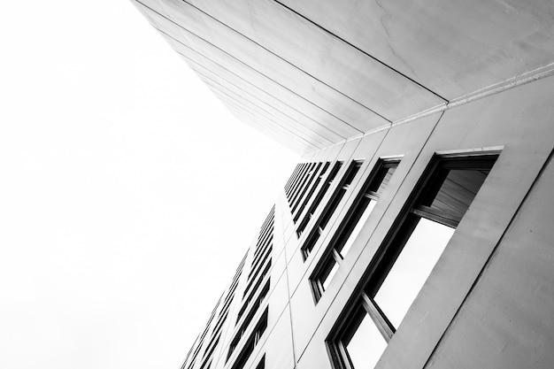 Texturas de padrões de construção de escritórios Foto gratuita