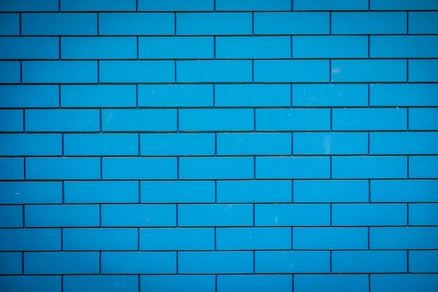 Texturas de parede de pedra de tijolo azul Foto gratuita