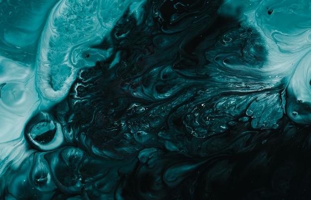 Tidewater cor verde mármore padrão art natural para o fundo, cor abstrata preta e roxa Foto Premium