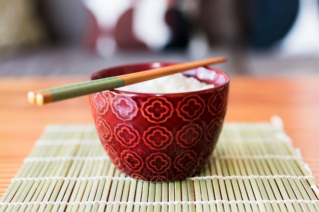 Tigela de arroz Foto gratuita