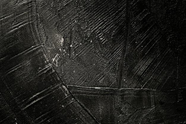 Tinta preta riscada de textura de madeira Foto gratuita