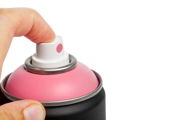 Tinta spray pode Foto Premium