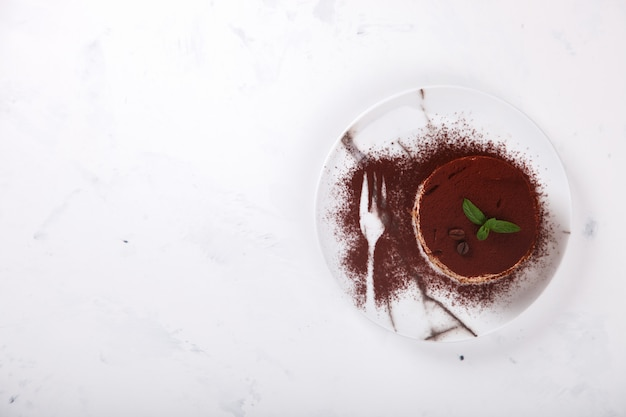 Tiramisu, tradicional sobremesa italiana Foto Premium