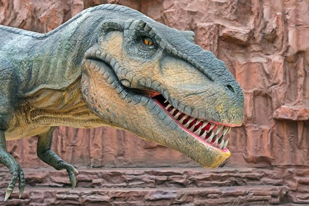 Tiranossauro é um gênero de dinossauro terópode coelurossauro. Foto Premium
