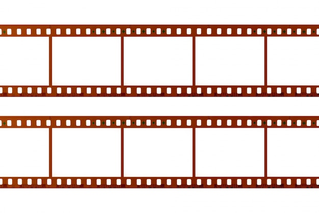 Tiras de filme Foto gratuita