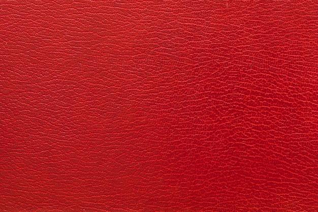 Tiro de quadro completo de fundo de couro vermelho Foto gratuita