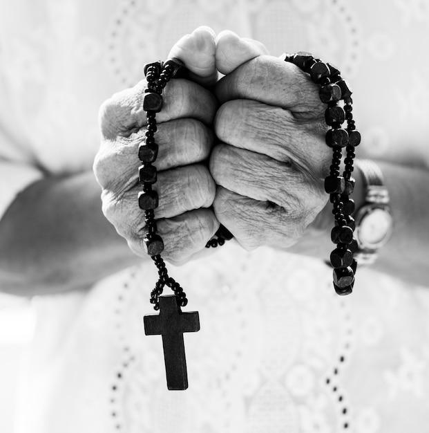 Tiro religioso diverso Foto gratuita