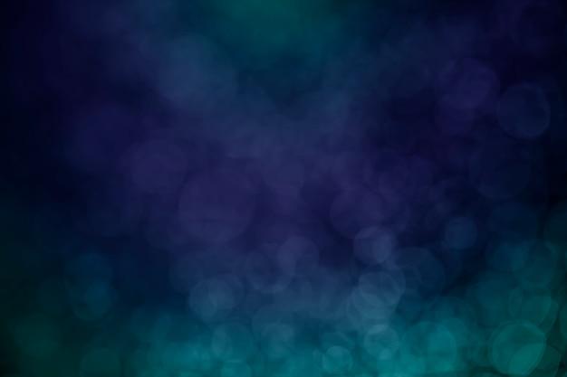 Tom de ponto de água bokeh azul para plano de fundo Foto Premium
