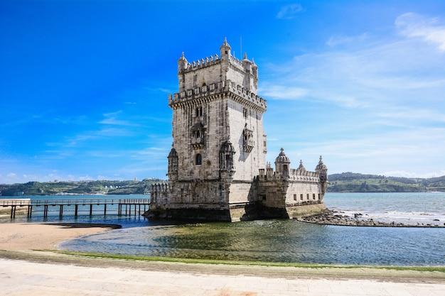 Torre de belém - lisboa, portugal. Foto Premium