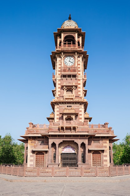 Torre do relógio, jodhpur Foto Premium