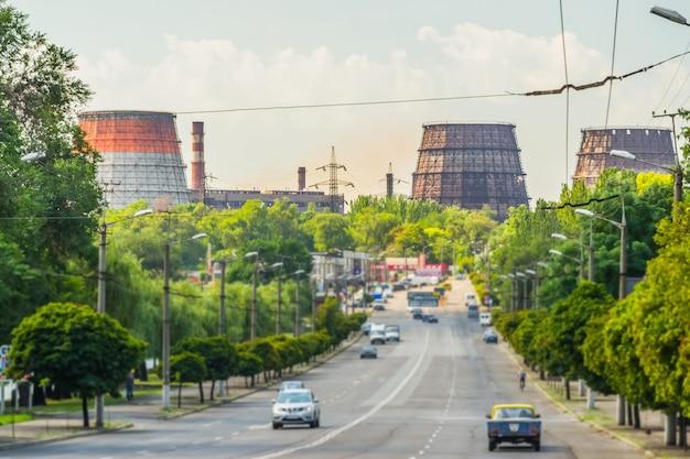 Torres industriais Foto Premium
