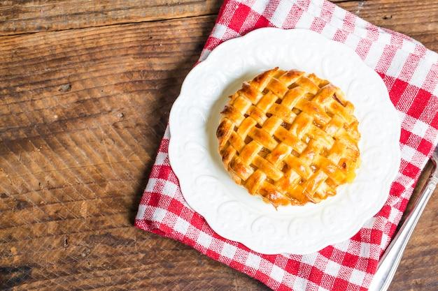 Torta de maçã Foto gratuita