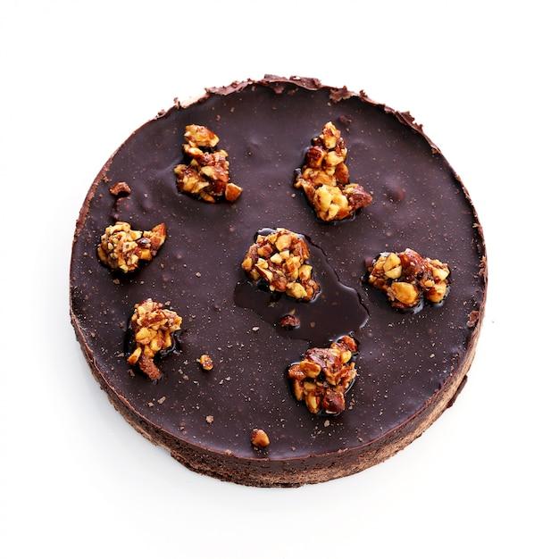 Torta deliciosa em cima da mesa Foto gratuita