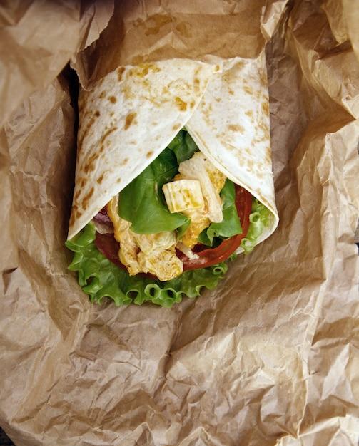 Tortilha deliciosa Foto gratuita