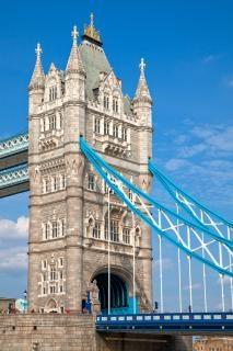 Tower bridge hdr cidade Foto gratuita
