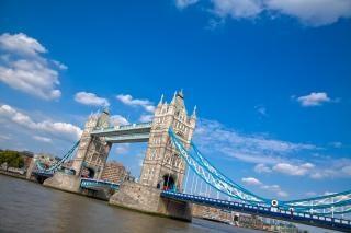 Tower bridge hdr ponte Foto gratuita