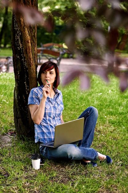 Trabalho freelance, conceito de pessoas de negócios. Foto Premium