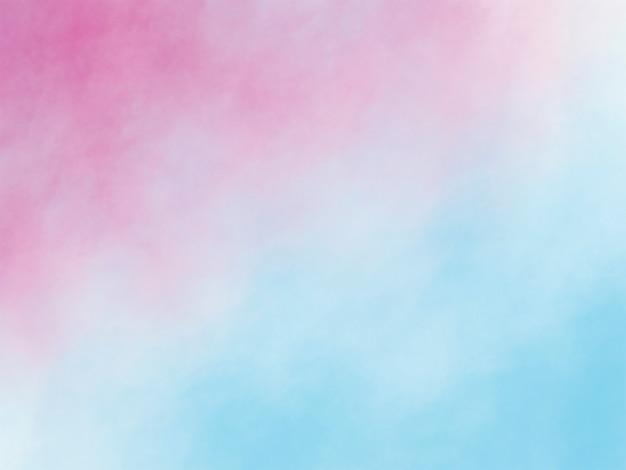 Traçados de pincel aquarela textura de fundo Foto Premium