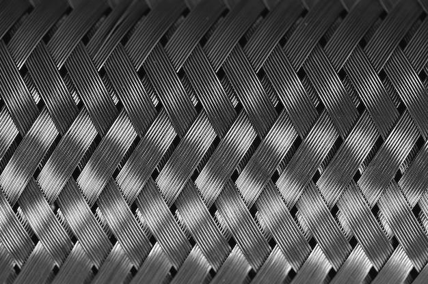 Trança de fio de metal horizontal Foto Premium