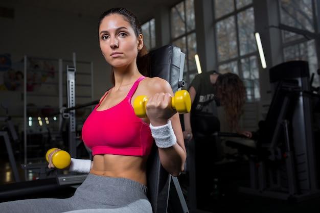Treinamento esportivo Foto gratuita