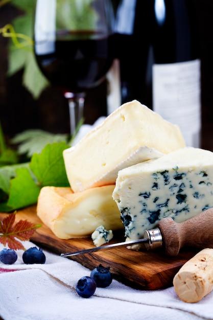 Três queijos Foto Premium