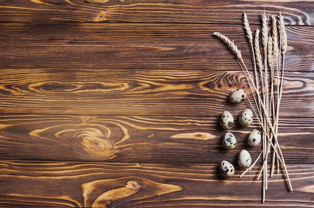 Trigo e ovos Foto gratuita